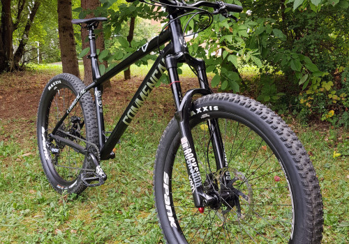 Commencal Meta HT AM - front side