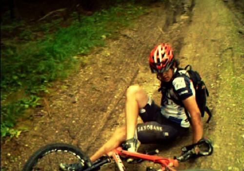 Chyba bicykla, ne jazdca :D