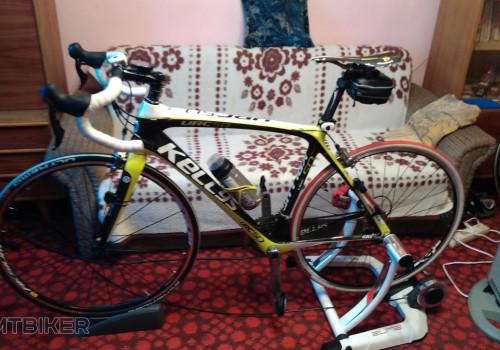 Bicykel na trenazeri
