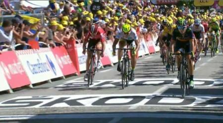 Sagan už v zelenom drese, celkovo je druhý