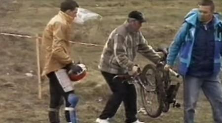 Retro spomienky: Slovenský pohár 1996 - Zjazd z Devínskej Kobyly aj s rozlomeným bikom počas jazdy