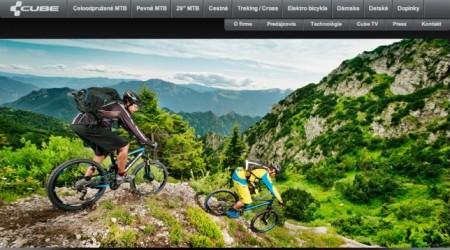 Nový web CUBEbikes.sk spustený
