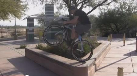 Video: cyklotrial na cesťákoch