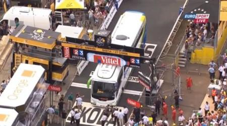TdF 1. etapa: Výhra Kittela, Sagana pribrzdil pád