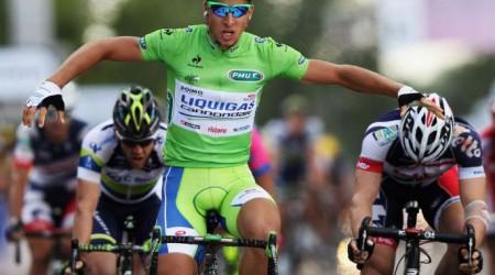 Peter Sagan si pripomínal v Bratislave Tour de France