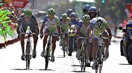 Peter Sagan 3. v špurte 3. etapy na Tirreno - Adriatico