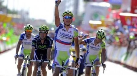Peter Sagan víťazom 6. etapy Vuelty