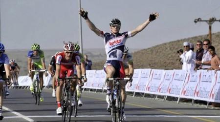 Úvod Okolo Ománu vyhral Greipel, Sagan finišoval piaty
