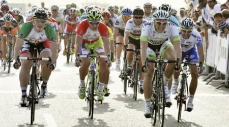 Peter Sagan prišiel o dres lídra pretekov Okolo Ománu