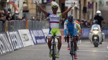 Peter Sagan víťazom 4. etapy na Tirreno - Adriatico