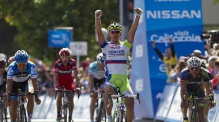 Peter Sagan vyhral úvodnú etapu Okolo Kalifornie