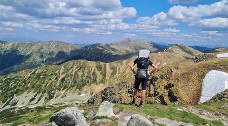 Chabenec (1 955 m n. m.)  z Magurky – konečne v okolí aj mimo Cyklonárez