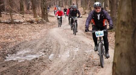 1. Zimný MTB Maratón 2011 alebo bez snehu sa viac práši