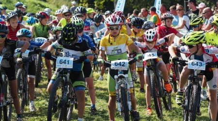 Detská tour Petra Sagana 8. kolo - asi najnáročnejšia trať