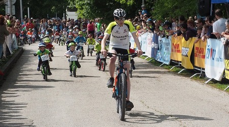 Detská tour Petra Sagana 3. kolo - 500 detí na štarte