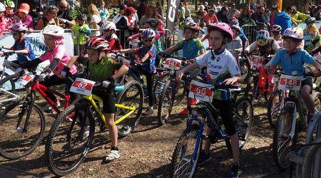 Detská tour Petra Sagana 1.kolo - nenáročná, ale technická trať