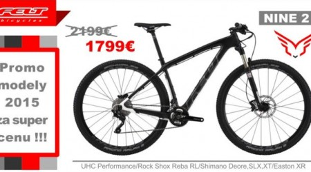 FELT - Rýchle XC bicykle NINE 2 a NINE 4 za super cenu