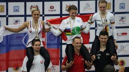 Svetový šampionát v sálovej cyklistike: striebro pre Nicole Frýbortovú, bronz pre štvoricu SR
