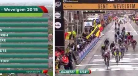 Saganovi nešla karta v posledných dvoch pretekoch, veľkú smolu mal Martin Velits, ktorý si v pretekoch Gent - Wevelgem po páde zlomil kľúčnu kosť