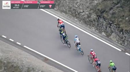 Video: 16. etapa na Gire cez Stelvio priniesla nečakanú zápletku