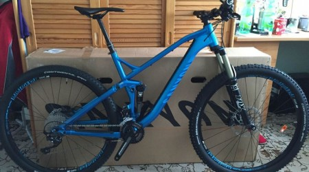 Biky fóristov: Canyon Spectral AL 7.9 - Môj prechod z kolies 26