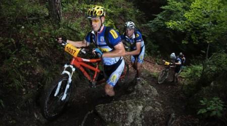 Report - Author bikemaratón Súľovské skaly 2012