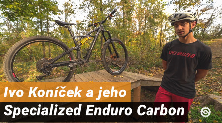 Video: Ivo Koníček a jeho Specialized Enduro Carbon