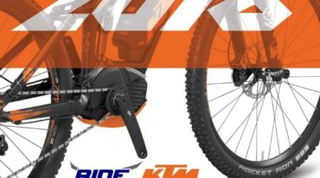 RIDE predstavuje e-biky KTM 2016
