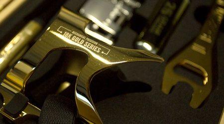 Lezyne 18K Gold Limited Edition Kit – štýlový darček
