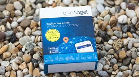 BikeAngel2  - šikovný strážca bicykla a jazdca