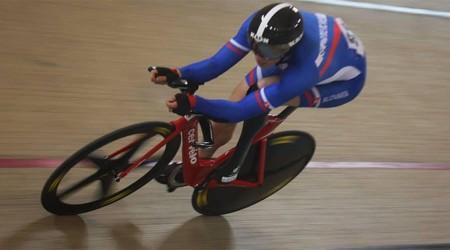 Metelka na majstrovstvách sveta v dráhovej cyklistike v Montichiari vybojoval striebornú medailu