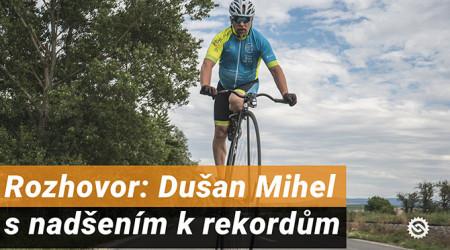 Video: Dušan Mihel - s nadšením k rekordům