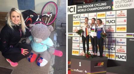 Slovensko získalo na majstrovstvách sveta v sálovej cyklistike dve bronzové medaily