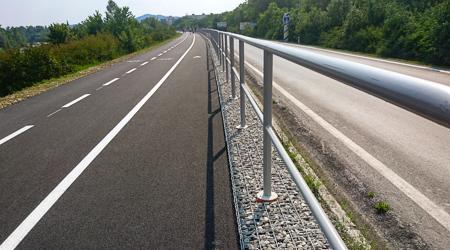 Po cyklotrase medzi Púchovom a Nimnicou sa cyklisti prevezú už toto leto