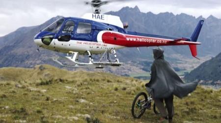 Heli Biking alebo MTB Hobbit na Novom Zálande