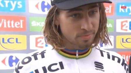 Peter Sagan hodnotí 10. etapu TdF, na ktorej vybojoval späť zelený dres a červené číslo