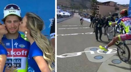 Peter Sagan sa dočkal a vyhral etapu na Okolo Kalifornie