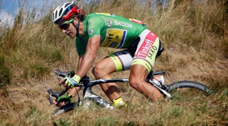 Zlatý pedál 2015 pre Petra Sagana
