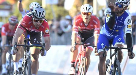 Video: Sagan vybojoval 2. miesto na 6. etape Tirreno-Adriatico, ale veľmi mu do reči nebolo