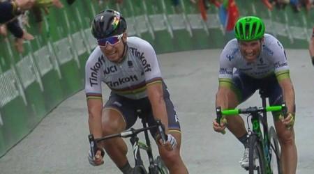 Peter Sagan opäť víťazne na Okolo Švajčiarska