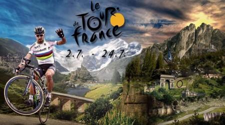 Mark Cavendish sa stal víťazom sobotňajšej úvodnej etapy na 103. ročníku cyklistických pretekov Tour de France, Peter Sagan tretí