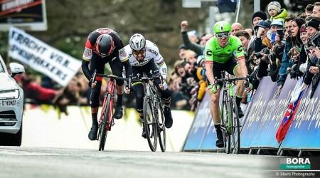 Na úvodnej flámskej klasike tejto sezóny Omloop Het Nieuwsblad obsadil Peter Sagan 2. miesto