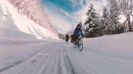 Video: Hokkaido Winter Bicycle Touring - trochu zimného jazdenia z Japonska