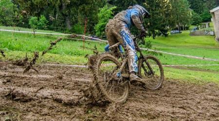 Fotogaléria: 2. kolo SpDH Malá Lučivná - Blato, blato a ešte raz blato