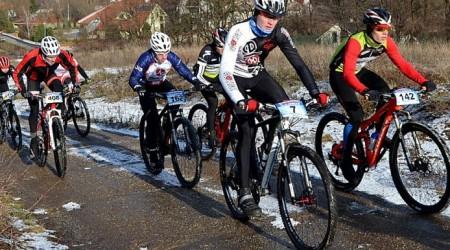 Reportáž: Stupava Winter Trophy MTB & Run 2016 - zimná akcia ako sa patrí aj s ľadom a snehom