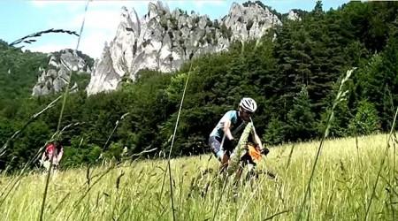 Poriadny videoklip z pekelne horúceho maratónu AUTHOR ŠKODA Bikemaratón Súľovské skaly 2016