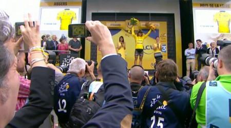 Sagan tesne štvrtý v 3. etape ale zostáva v žltom drese