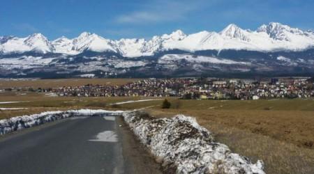 350 a 280 kilometrov: Tatranské, nedočkavé, aprílové, zasnežené cyklistické výjazdy