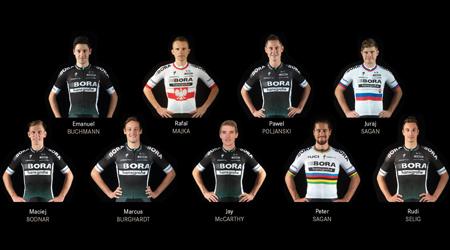 Na Tour de France v zostave Bora-Hansgrohe obaja Saganovci, Majka aj Bodnar