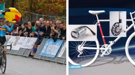 Van den Driesscheová možno dostane za motor v ráme bicykla doživotie